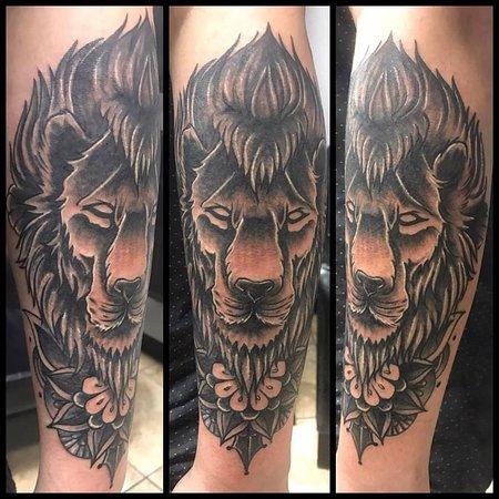 Colorado Springs, CO : Lion made by Drake Gann