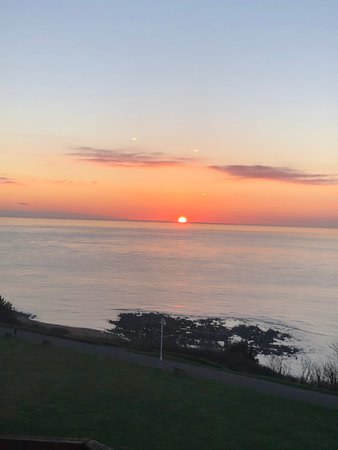 Sunrise from Exeter