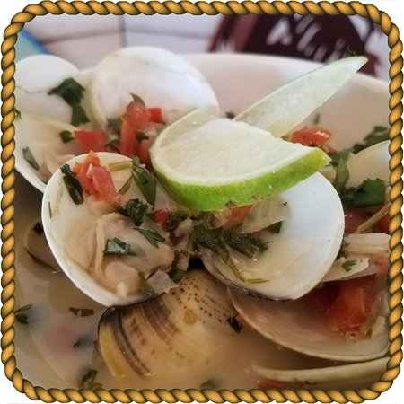 Tequila Lime Clams