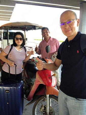 Cambodian driver  The private transportation tour service