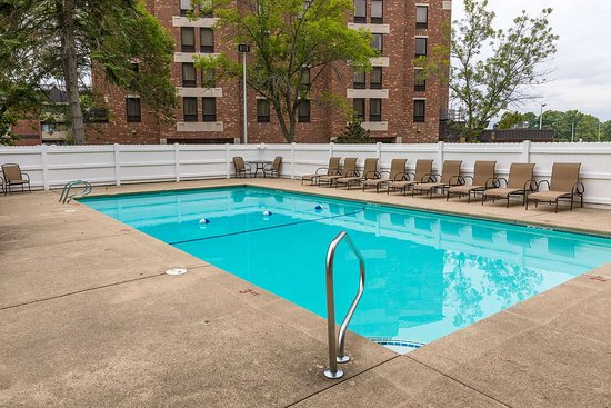 Soak up the sun in our seasonal outdoor pool!