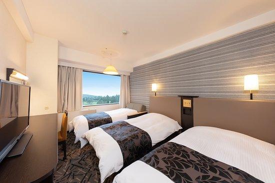 APA Resort Joetsu Myoko: 別館 客室 トリプルルーム ルームシアター視聴無料