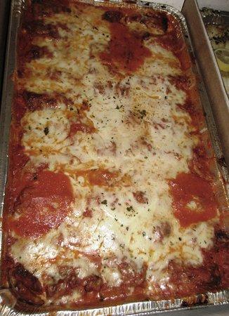 Hasbrouck Heights Pizza: Eggplant Parm