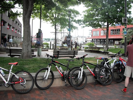 """Parsonsfield, ME: Getting ready for the Ferry Ride on """"Bike The Islands"""" tour"""