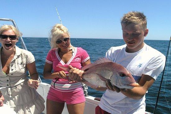 从维拉摩拉钓鱼的全日珊瑚礁