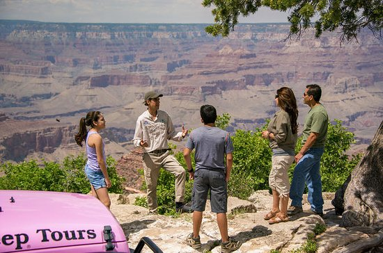 Grand Canyon East Rim Drive af Jeep...