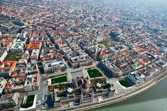 私人飛機的布達佩斯風景飛行