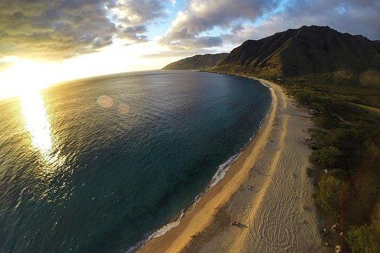 Excursion en hélicoptère à Oahu...