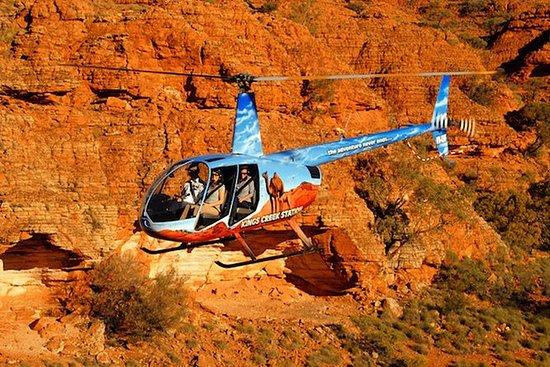 空中联合国王峡谷和红色中心体验