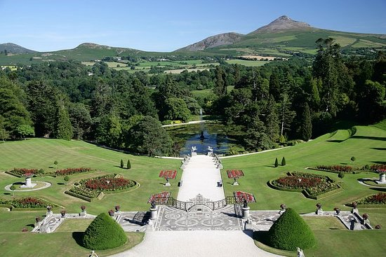 Glendalough and Powerscourt Gardens...