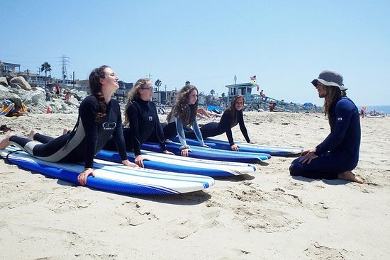 Small-Group Surf Lessons at Hermosa...