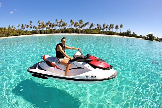 Tour di Moorea in moto d'acqua - in
