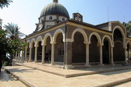 Kristne steder ved Galileasjøen fra...