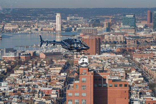 Excursão Sightseeing do helicóptero...