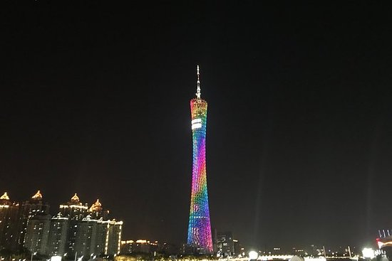Buffet Dinner at Canton Tower...