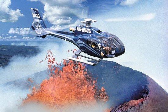 大岛壮观的直升机之旅