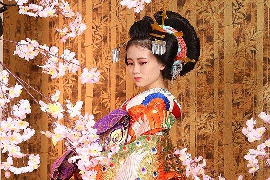 在奈良的服装拍摄
