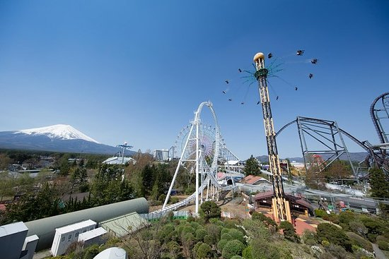 Fuji-Q Highland ettermiddagskort (for...