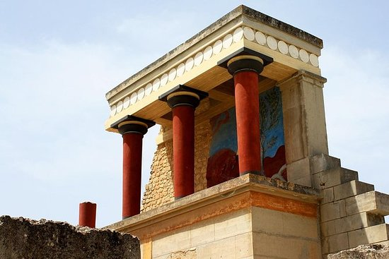 Kreta: Knossos Palace, self-guided ...