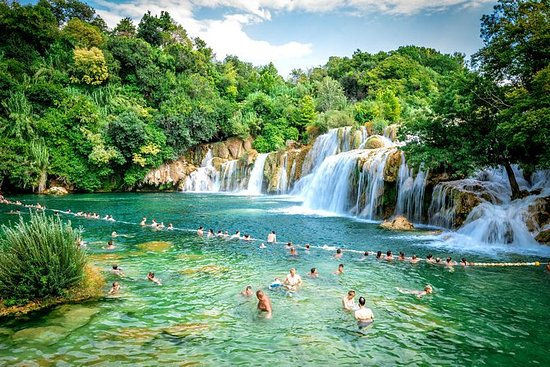 Krka Waterfalls National Park from...