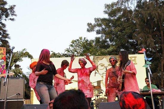 Célébration du Festival Holi Moo à...
