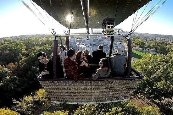 Hot-Air Balloon Ride over Aranjuez...
