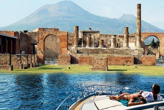 Esperienza in barca a Pompei e Capri
