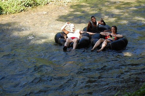 Combo Tour Blue hole and River Tubing...