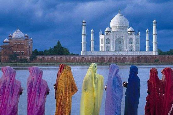 Taj Mahal dagstur från Delhi med ...