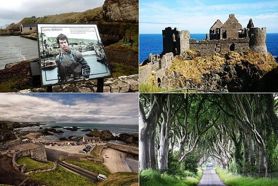 Private Luxury Full-Day Belfast Sightseeing Tour From Belfast Cruise Terminal: Shore Excursion:Game of Thrones&Giant's Causeway Full-Day Tour From Belfast Port