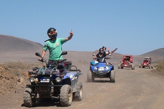 QUAD ELLER BUGGY SAFARI IN CORRALEJO...