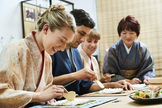 PRIVATE Japanese Cooking Class in...