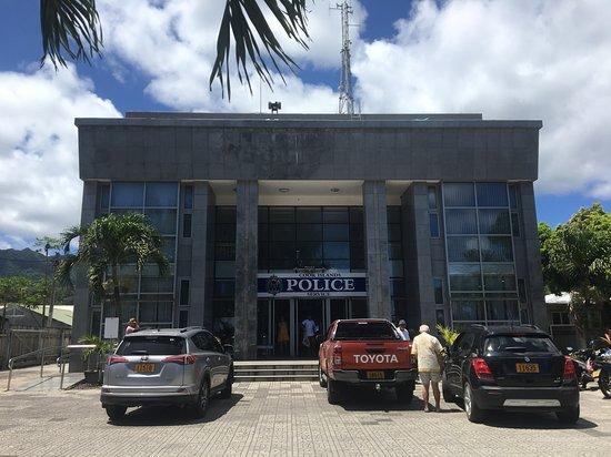 Rarotonga, Islas Cook: Police Station