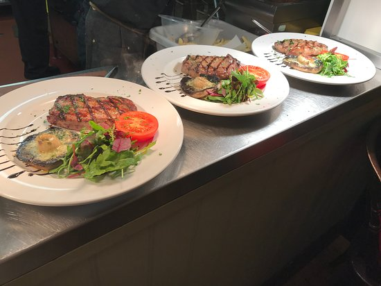 Tafarn Morlais: 3 delicious grills ready to leave the kitchen