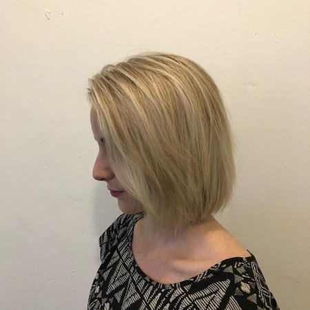 Blonde Highlights at Trimmings