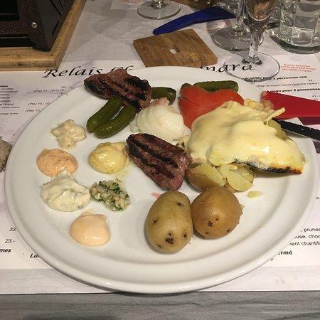 Assiette Charbo-Reblo