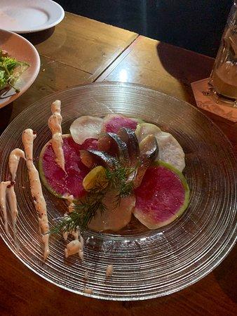 In De Bourgondische Hemel: salad