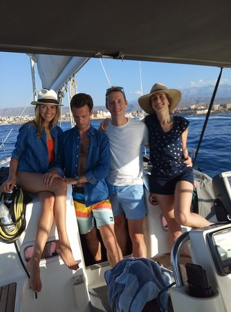 Golden Boheme Yachting Co: relaxed moments on board for two marvellous couples.