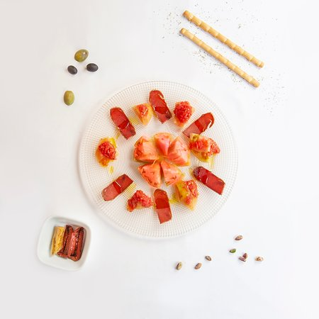 Don Salvatore: Mojama con tomate
