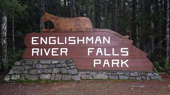 Errington, Canada: Park enterance