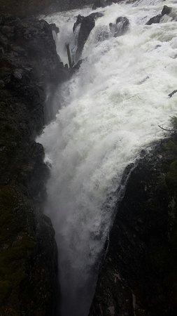 Errington, Canada: The falls