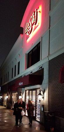 La Saj Lebanese Bistro: Entrance to La Saj in Troy, Michigan.