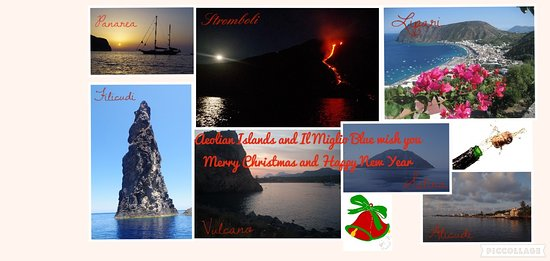 Aeolian Islands and Il MIglio blue wish you Merry Christmas and Happy New Year.