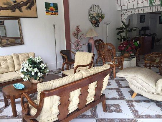 Gonaives, Haiti: The lobby