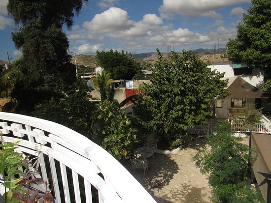 Gonaives, Haiti: View from a Terrace