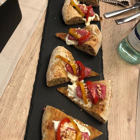 Assaporare la pizza in modo alternativo !