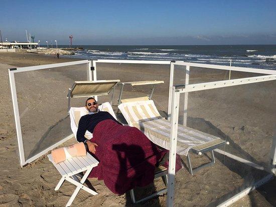 Spiaggia fotograf a de spiaggia del sole 86 87 riccione - Bagno 53 riccione ...