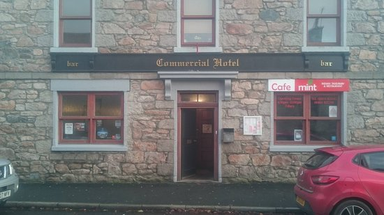 Insch, UK: Small friendly Hotel with 4 letting rooms.