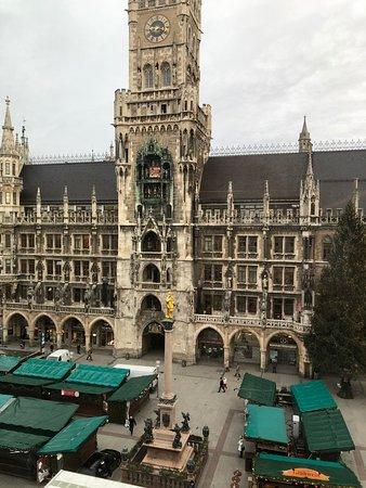 Best view in Marienplatz!