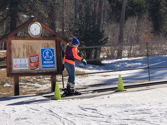 Vadito, Нью-Мексико: Kids ski lift